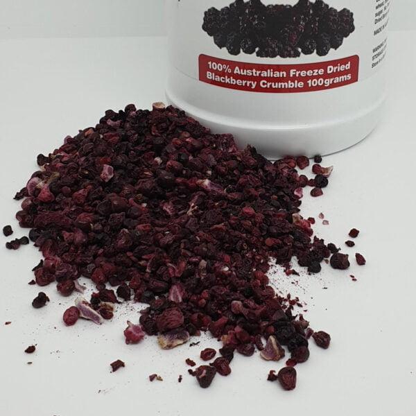Blackberries crumble 100 by BerryFresh Australia
