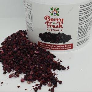 Blackberries crumble 250 by BerryFresh Australia