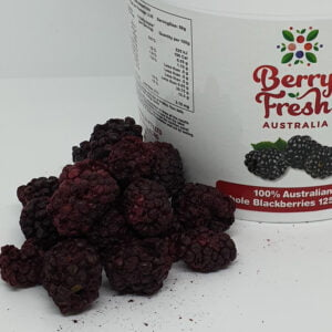 Whole Blackberries 125 by BerryFresh Australia