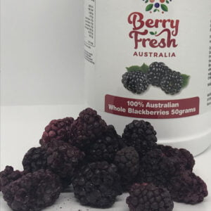 Whole Blackberries 50 by BerryFresh Australia