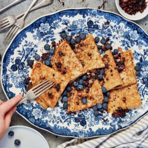 Dried Blueberry Crumble Pieces by BerryFresh Australia