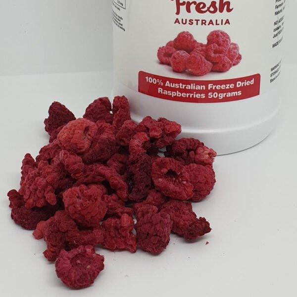 Whole Raspberries 50 by BerryFresh Australia