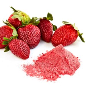 Strawberry Powder Berry Fresh